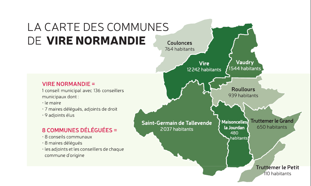 carte Vire Normandie